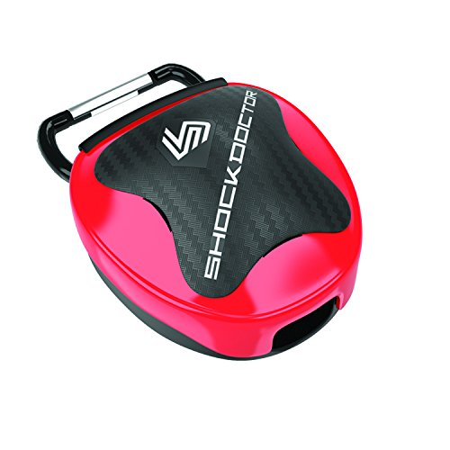 ShockDoctor Erwachsene Mundschutz Box, Red, 11+