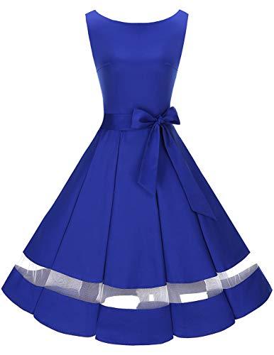 profesional ranking Vintage Bride May Party Dress Años 50 Mujeres Sin mangas Cóctel Clásico Rockabilly … elección