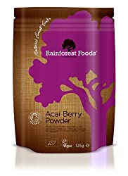 Highly concentrated - this pack contains the equivalent of 2.5kg of Acai berry fruit. Sourced from Sambazon who operate a FairTrade supply chain that benefits 1000s of local families in the Amazon rainforest. Produced from acai berry that has been fr...