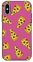 可愛い Pattern Pizza パターン ピザ キャラクター iPhone ケース 互換対応と Galaxy ケース 互換対応 TPU と ポリカーボネート ミラー 機能 マグネチック ドア カード 収納 バンパー スマホケース BC-BTS-21-48-P004 (Galaxy note10) [並行輸入品]