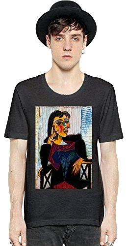 Portrait of Dora Maar Picasso Painting T-shirt Large