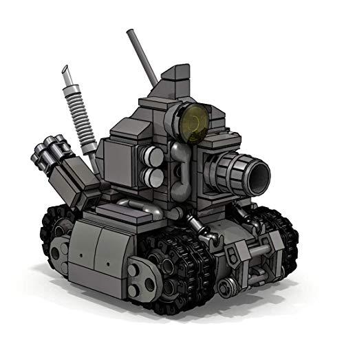 CYGG Kit de Modelo de Tanque, 345 PCS Tank Toy Puzzle para Construir para niños, niñas, niños y Adultos, Moc PEQUEÑO Block Block Compatible Lego - Micro Tank
