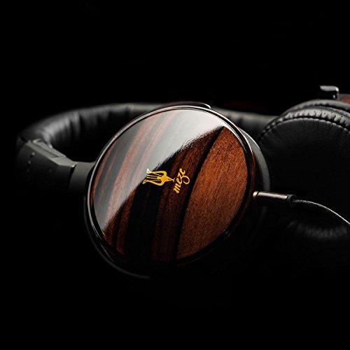 Meze 73 Classics Premium - Auriculares de diadema, superficie brillante en color madera