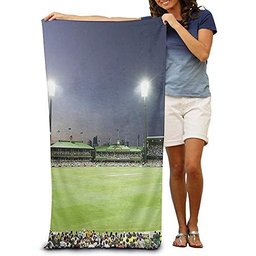 utong 100% Baumwolle Strandtücher 80x130cm Quick Dry Handtuch für Schwimmer Live Cricket Beach Blanket