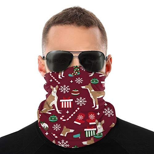 Ibizan Hound Weihnachten – Rubin-Gesichtsmaske, Halbstuch/Halstuch/Halstuch/Halstuch/Halstuch/Halstuch/Halstuch/Halstuch/Halstuch/Halstuch/Halstuch/Bandana,