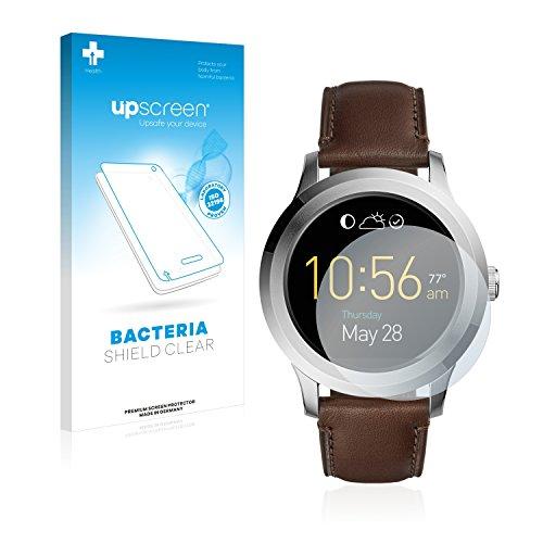 upscreen Antibakterielle Schutzfolie kompatibel mit Fossil Q Fo&er 2.0 klare Bildschirmschutz-Folie