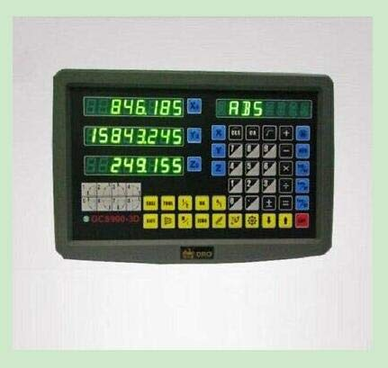 Find Bargain Customized 3 AXIS DIGITAL DISPLAY READOUT DRO LATHE MACHINE AND 3 LINEAR SCALE