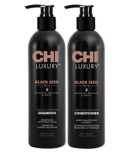 Chi Luxury Black Seed Oil Shampoo & Conditioner 25oz Duo