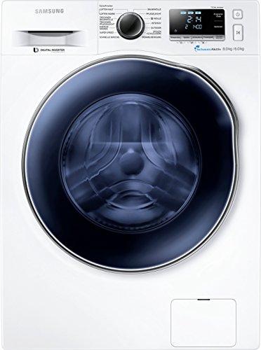 Samsung WD80J6400AWEG Waschtrockner /1088 kWh / 8 kg Waschen / SchaumAktiv Technologie