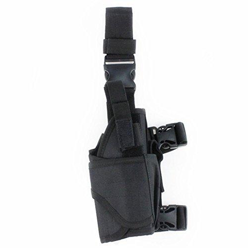 MEETOZ Tactical Leg Holster Black Adjustable Tactical Army Drop Leg Holster...