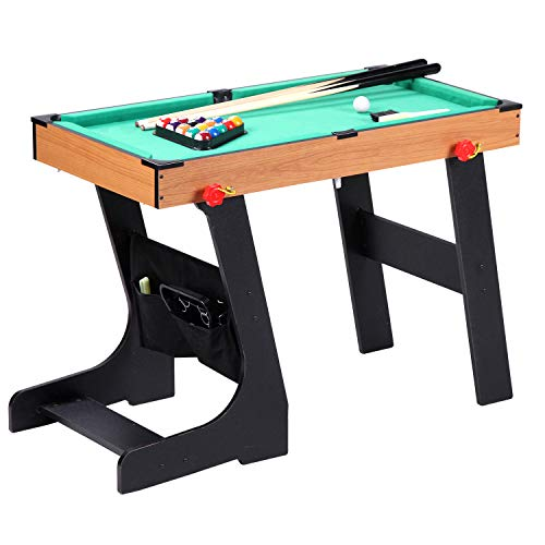 Guaranteed4Less Football Table Folding Gaming Game Sports Pool Air Hockey Foosball Soccer Indoor (Snooker)