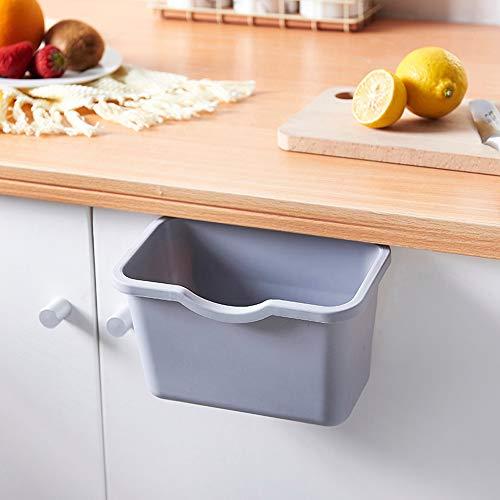 Quaanti - Armario de basura para cocina, para colgar en la puerta, papelera, papelera, contenedor de basura, regalo para decoración del hogar