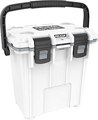 Pelican Elite 20 Quart Cooler, Multi (20Q-1-WHTGRY)