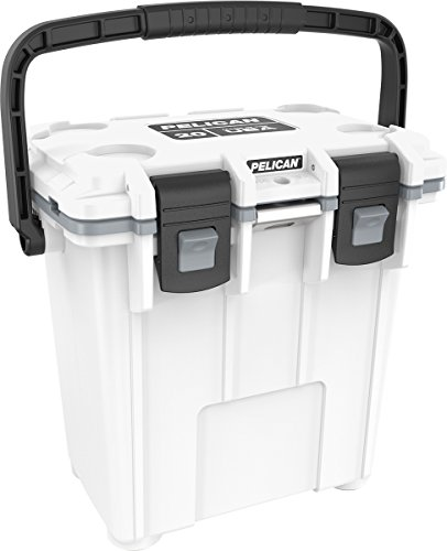 Pelican Elite 20 Quart Cooler (White/Gray)