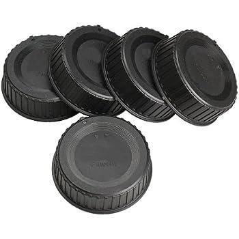 Rear Lens Cap Compatible with Nikon F-Mount Lenses Blue Fotodiox Designer Non-AI, AI, AIS, AF, AFD, AFS, G, DX, FX