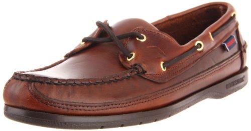 Sebago Men's Schooner Shoe,Brown Oiled Waxy,8.5 W US/2E