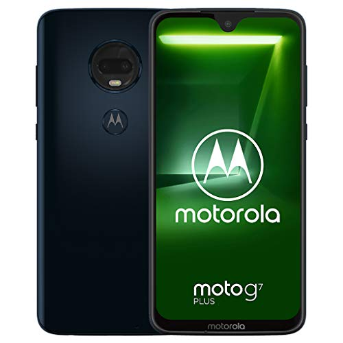 Motorola Moto G7+ Plus XT1965 Single-SIM 64GB Factory Unlocked SIM-Free 4G/LTE Smartphone (Deep Indigo/Blue)