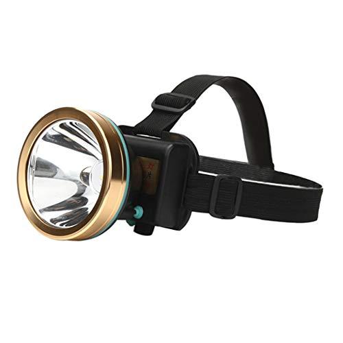 Jaxtec Head Torche Lampe Frontale Rechargeable USB 12000 LM mains libres Lampe de Poche