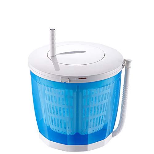 Mini Hand-Handwaschmaschine, Nicht elektrische Waschmaschine und Wäscheschleuder, Waschtrockner für Camping, Apartments oder Studentenwohnheime