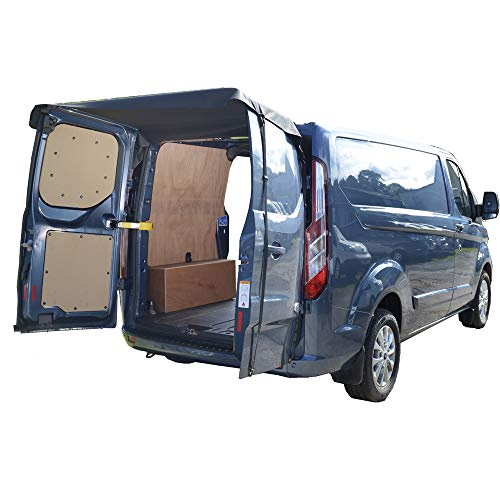 UK Custom Covers BDC514AD5 Cubierta para toldo de puerta trasera de granero - Negro
