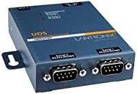 Lantronix Device Server UDS2100 Two Port Serial (RS232/ RS422/ RS485) to IP Ethernet - Device server - 2 ports - 10Mb LAN, 100Mb LAN, RS-232, RS-422, RS-485 [並行輸入品]