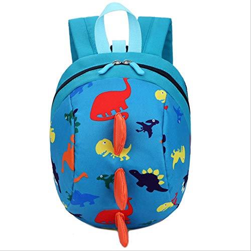 PXNH Cute School Backpack Anti-Lost Kids Bag Cartoon Dinosaur Children Mochilas para bebés y niños Mochilas Escolares 26 * 20 * 12cm 3