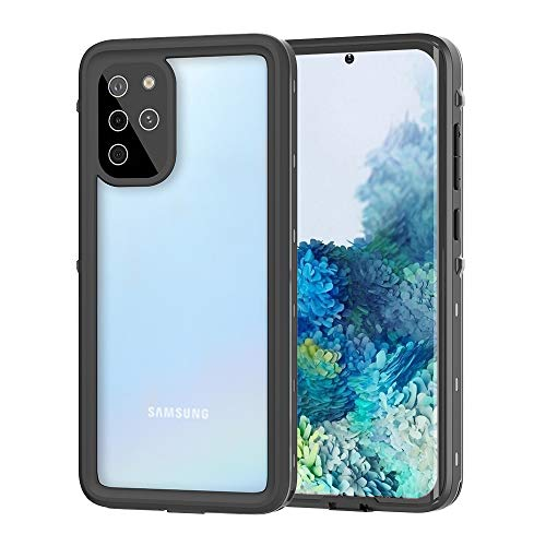 YOGRE Samsung Galaxy S20+ Plus 5G Waterproof Case with Built-in Screen Protector, Dropproof Dustproof and Snowproof Waterproof Phone Cover Cases, Wireless Charging Supported, 6.7 Inch