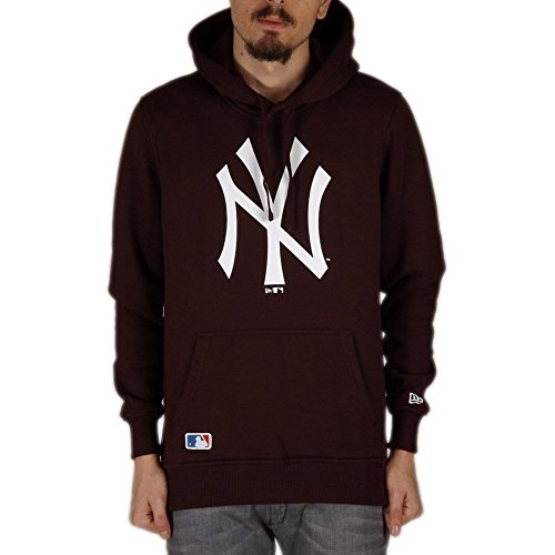 Sweats À Capuche New Era – Mlb New York Yankees Po bordeaux taille: L (Large)