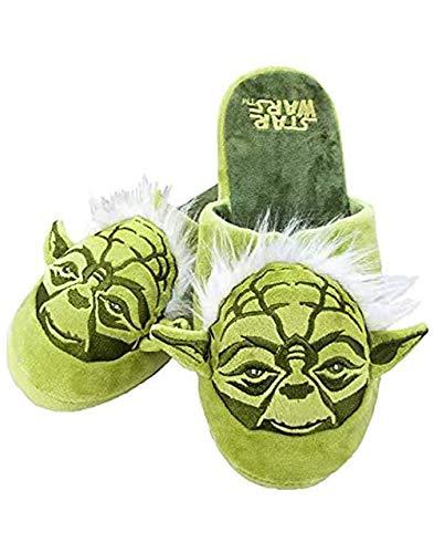 Vanilla Underground Star Wars Yoda Männer Grüne 3D Pantoffel, 11/12 UK | EU 46-47