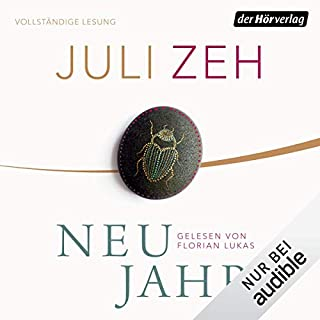 Neujahr                   By:                                                                                                                                 Juli Zeh                               Narrated by:                                                                                                                                 Florian Lukas                      Length: 5 hrs and 3 mins     2 ratings     Overall 4.5