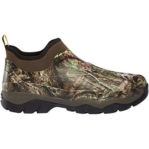"""LaCrosse Men's 330020 Alpha Muddy 4.5"""" Waterproof Outdoor Boot, Mossy Oak Break-Up Country - 12 M"""