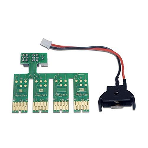 Neigei Accesorios de Impresora Nuevo T288 T2881-T2884 Mostrar el Nivel de Tinta Restablecer el Chip de Cartucho ARC Compatible con Epson XP440 XP434 XP340 XP446 XP330 XP240 Bulk Ink Ciss