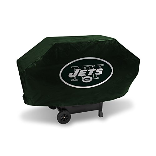 NFL New York Jets Vinyl Padded Deluxe Grill Cover