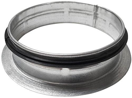 Intelmann Rosette Ø 150 mm Bundkragen, Flansch für Rohr