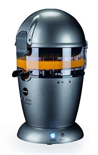 MACOM Just Kitchen 873 Auto-Squeezer-Spremiagrumi Completamente Automatico, Antracite Potenza: 50W, 50 W