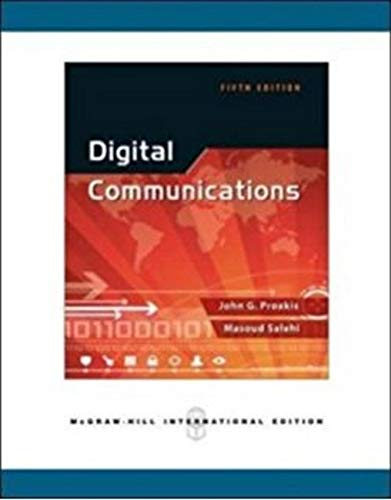 Digital Communications: Fundamentals and Applications (3rd Edition) (Communications Engineering & Emerging Technology Series from Ted Rappaport)