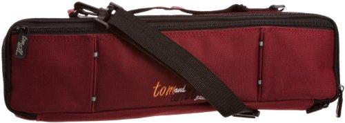 Tomandwill 33FCC Tasche für Flötenkoffer, burgunderrot