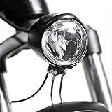 hhxiao Luces Bicicleta LED Bicicleta eléctrica 6v Delantero LED Faro E luz de Bicicleta para Motor de tracción Media