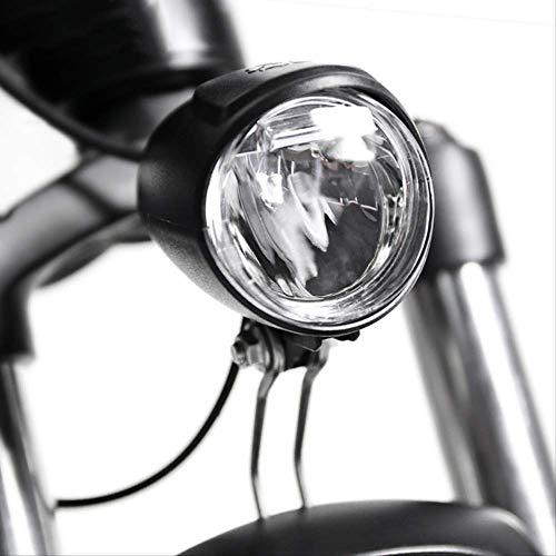 hhxiao Luces Bicicleta LED Bicicleta eléctrica 6v Delantero LED Faro E luz...