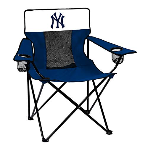 Logo Brands MLB New York Yankees Elite Chair, Team Color, One Size