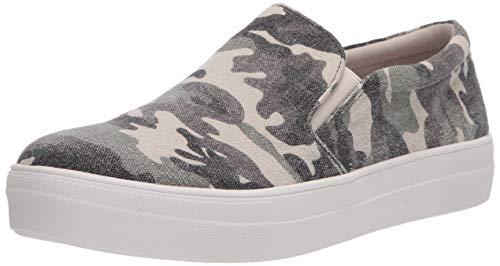 Steve Madden Womens Gills-C Sneaker, Green Camo,10
