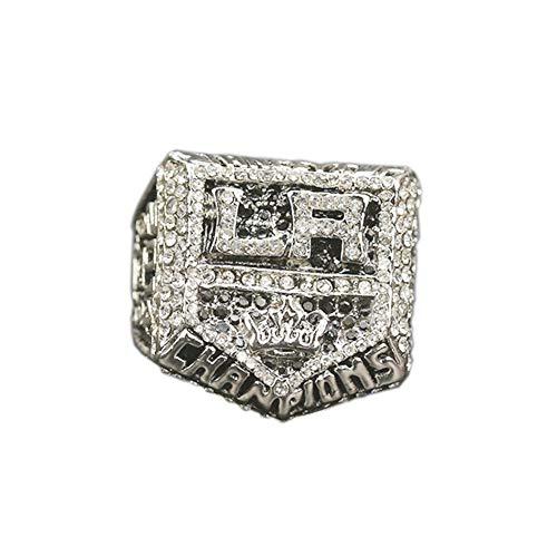 Fei Fei 2014 Los Angeles Kings Hockey Championship Ring College Ring Campeonato del Anillo para los fanáticos Hombres colección del Regalo de visualización,Without Box,11#