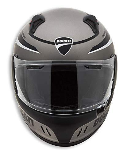 Ducati Arai Renegade Black Steel Ece Motorrad Helm Motorradhelm (S)