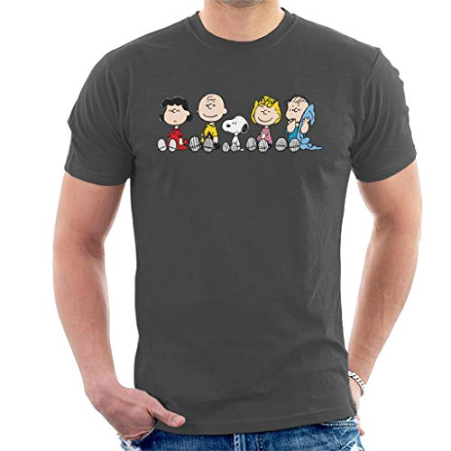 Peanuts The Gang Sit Down Men's T-Shirt
