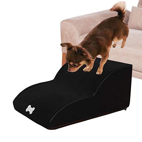 pegtopone Escaleras Rampa para Perros Y Gatos Domésticos Mascota Cojín 2/3 Escalones...