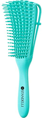 ST PROFESSIONAL Detangling Brush for Black Natural Hair, Kinky Frizzy Wavy...