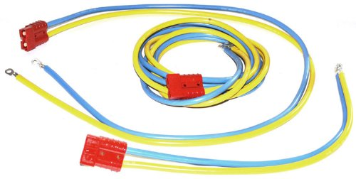 WARN 70918 Winch Accessory: Multi-Mount Battery Lead Power Cable for Powersports Winches with Quick Connect System Plug, 96