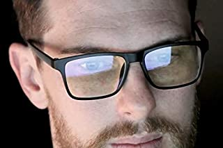 Modern Carry Blue Light Computer Light Protection Glasses - Great for Gaming, Remote Workers, Both Men, and Women - Increase Your Digital Performance While Blocking Harmful Screen Light