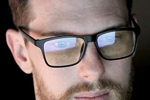 Modern Carry Blue Light Computer Light Glasses - Great for Gaming, Remote Workers, Both Men, and Women, Gaming Glasses - Increase Your Digital Performance While Blocking Harmful Screen Light