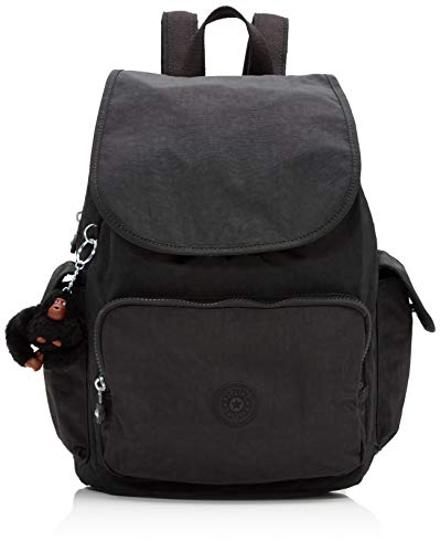 Kipling Women's City Backpack Handbag, Black (True Black), 32x37x18.5 centimeters B x H T UK